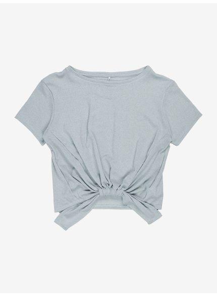 blusa lurex com amarracao t7156 frente