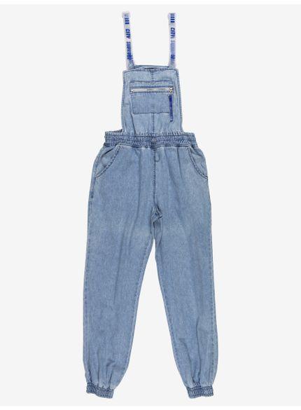 jardineira feminina jeans alca plastica authoria t7008 still