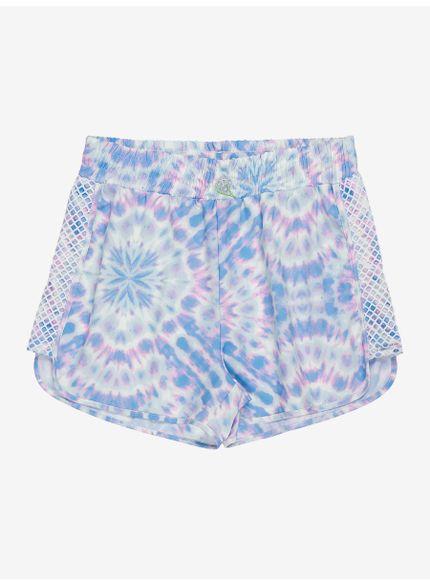 shorts tie dye feminino authoria