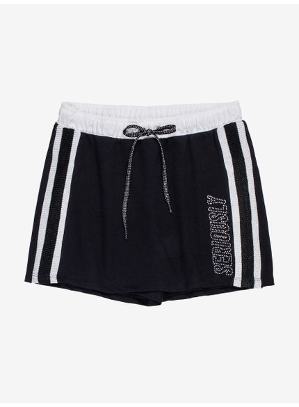 shorts saia esportivo preto authoria t6993 still