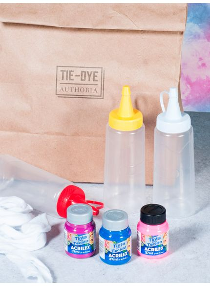 kit tingimento tie dye azul zt021