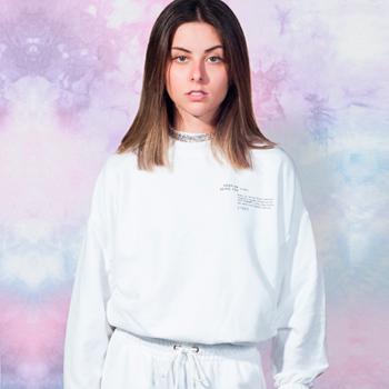 moletom customizavel tie dye de moletom branco t7506 look