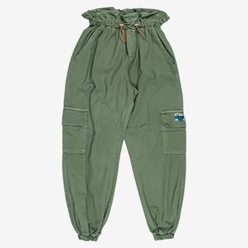 calca cargo verde militar juvenil authoria T7063