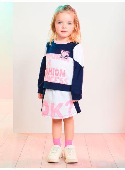 conjunto infantil menina princess momi