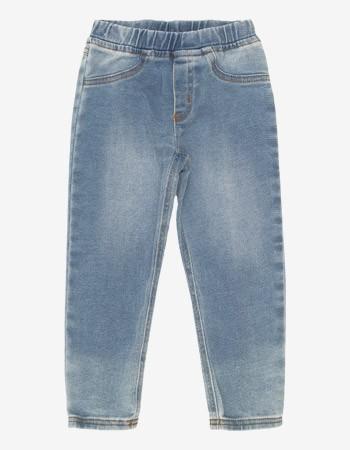 Calca Jeans Infantil Feminina Cos Elastico Momi J3433