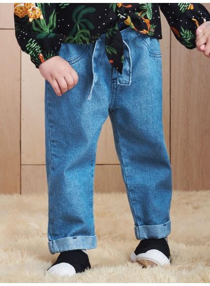 calca infantil clochard jeans momi